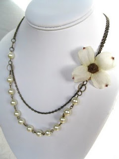 Giveaway!! Dogwood Blossom Necklace