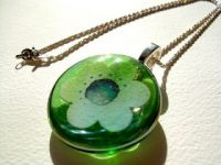 Giveaway! Watercolor Art Necklace