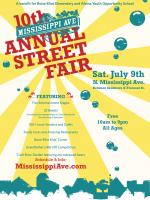Mississippi Street Fair…July 9th!