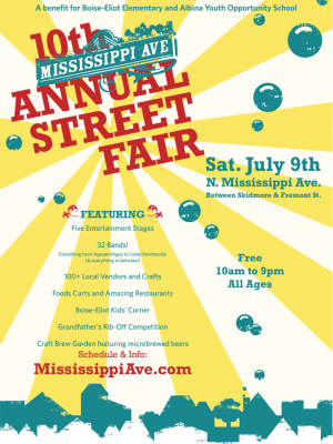 Mississippi Street Fair...July 9th!
