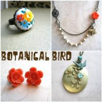 Jewelry Giveaway – 25.00 Gift Certificate at Botanical Bird